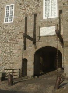 Door to the walled town