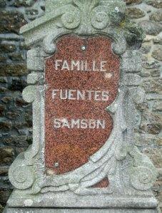 Fuentes & Samson family grave