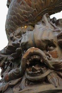 A neglected public sculpture