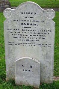 Grave of Sarah Belzoni